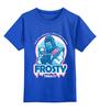 """Детская футболка классическая унисекс """"Саб-Зиро (Мортал Комбат)"""" - mortal kombat, мортал комбат, sub-zero, саб-зиро, frosty"""