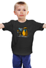"""Детская футболка классическая унисекс """"Дождливый Вечер"""" - аниме, тоторо, totoro, мой сосед тоторо"""