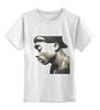 """Детская футболка классическая унисекс """"2 pac"""" - rap, hip hop, 2pac, тупак, тупак шакур, рэпер, tupac shakur, tupac"""