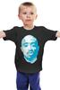 """Детская футболка классическая унисекс """"Тупак Шакур (2pac)"""" - 2pac, тупак, тупак шакур, tupac"""