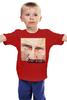 """Детская футболка классическая унисекс """"Путин обещает снег"""" - путин, putin, снег будет"""