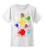 """Детская футболка классическая унисекс """"Яркость"""" - яркость"""