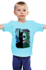 """Детская футболка """"Темный рыцарь. """" - batman, джокер, бэтмен, темный рыцарь, dc комиксы"""