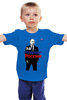 """Детская футболка классическая унисекс """"Владимир Путин - За будущее России"""" - россия, путин, putin, владимир путин, путин царь"""