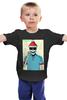 "Детская футболка классическая унисекс ""Zomboy"" - dj, zomboy, kdrew, dyro"