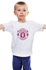 "Детская футболка классическая унисекс """"Manchester United"""" - футбол, манчестер юнайтед, manchester united"