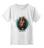 """Детская футболка классическая унисекс """"Tard Sparrow """" - кот, арт, стиль, cat, пират, pirate"""