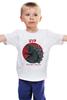"""Детская футболка классическая унисекс """"Годзилла"""" - monster, japan, годзилла, godzilla, гадзилла, монстр-мутант"""