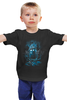 "Детская футболка ""Восстание машин"" - черепа, doctor who, терминатор, доктор кто, тардис"