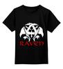 "Детская футболка классическая унисекс ""Raven Brand"" - ворон, raven brand, бренд ворон, voron"