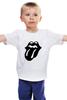 """Детская футболка классическая унисекс """"Rolling Stones (Black)"""" - the rolling stones, роллинг стоунз"""