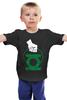"""Детская футболка """"Green Lantern """" - арт, green, dc, lantern, green lantern, dc comics, зелёный фонарь"""