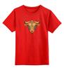 """Детская футболка классическая унисекс """"Телец"""" - гороскоп, телец, знак зодиака, taurus, бык"""
