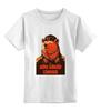 """Детская футболка классическая унисекс """"Comrade"""" - bear, медведь, погоны, товарищ"""