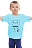 """Детская футболка классическая унисекс """"BMO  Adventure Time"""" - adventure time, время приключений, bmo, бимо"""