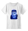 """Детская футболка классическая унисекс """"Tardis is Coming"""" - doctor who, доктор кто, тардис"""