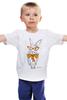 """Детская футболка классическая унисекс """"Кролик"""" - арт, кролик, rabbit"""
