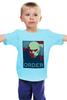 "Детская футболка классическая унисекс ""Zaheer (The Legend of Korra)"" - obey, аватар, avatar, order, zaheer"