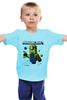 "Детская футболка ""MINIONCRAFT"" - minecraft, майнкрафт, banana, банан, миньон, minion, гадкия я"