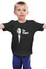 """Детская футболка классическая унисекс """"Kingpin x Godfather"""" - пародия, godfather, крестный отец, kingpin"""
