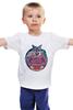 "Детская футболка ""Лис Лис  "" - арт, животные, природа, лис, fox, лиса"