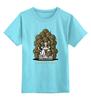 """Детская футболка классическая унисекс """"Game of Cats"""" - пародия, котик, игра престолов, game of thrones, игра котов"""