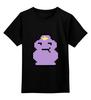 """Детская футболка классическая унисекс """"Принцесса Пупырчатого Королевства"""" - adventure time, время приключений, пупырчатого"""