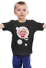 """Детская футболка классическая унисекс """"Мэрилин Монро"""" - круг, мэрилин монро, marilyn monroe, жевачка"""