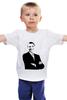 """Детская футболка классическая унисекс """"Обама"""" - обама, сша, президент, obama"""