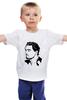 """Детская футболка классическая унисекс """"Леонардо Ди Каприо"""" - леонардо ди каприо, leonardo dicaprio"""