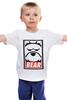 """Детская футболка классическая унисекс """"Мишка (Bear, Obey)"""" - bear, медведь, obey"""