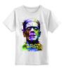 """Детская футболка классическая унисекс """"Арт Франкенштейн"""" - монстер, frankenstein, франкенштейн, я жив"""