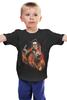 """Детская футболка """"Зомби Рок-Гитарист"""" - zombie"""