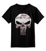 """Детская футболка классическая унисекс """"The Punisher"""" - skull, череп, касл, marvel, антигерой, палач, punisher, каратель, фрэнк касл"""