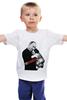 """Детская футболка классическая унисекс """"Госнежность """" - путин, президент, putin, deisgnministry, госнежность"""