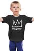 """Детская футболка """"Basquiat"""" - граффити, корона, basquiat, баския, жан-мишель баския"""