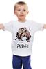 """Детская футболка классическая унисекс """"Dota 2 Pudge Samurai"""" - dota 2, pudge, дота 2, пудж, dota 2 pudge"""