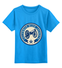 """Детская футболка классическая унисекс """"Columbus Blue Jackets"""" - хоккей, nhl, columbus blue jackets, коламбус блю джекетс"""