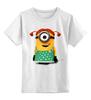 """Детская футболка классическая унисекс """"Миньоны Minions"""" - миньон, minions"""