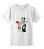 """Детская футболка классическая унисекс """"Ну погоди! """" - мультфильм, ретро, заяц, волк, ну погоди"""