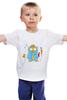 """Детская футболка """"Настоящему джентльмену"""" - любимому, сова, лучший, owl, 23февраля"""