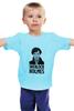 """Детская футболка классическая унисекс """"Sherlock Holmes"""" - sherlock, шерлок, холмс, ватсон, cumberbatch"""
