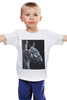 "Детская футболка ""Bull terrier"" - dog, бультерьер, bull terrier, bullterrier"