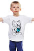 """Детская футболка классическая унисекс """"Том и Джери"""" - tom and jerry, cartoon, том, том и джери"""
