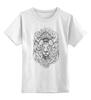 """Детская футболка классическая унисекс """"Lion!"""" - арт, лев"""