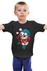 """Детская футболка классическая унисекс """"Снеговик"""" - праздник, новый год, new year, снеговик, snow, snowman"""