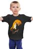 "Детская футболка ""Скейтер"" - арт, скейт, необычно, лисы, skateboard"