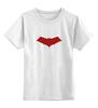"""Детская футболка классическая унисекс """"Красный колпак (Red Hood)"""" - batman, бэтмен, красный колпак, red hood"""