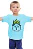 """Детская футболка """"Ice King"""" - adventure time, время приключений, пиксельная графика, ice king"""