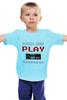 """Детская футболка """"Игрок (Геймер)"""" - gamer, nintendo, геймер, player, play"""